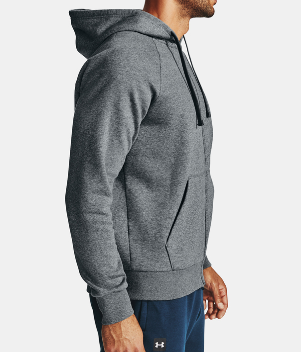 Mikina Under Armour UA Rival Fleece FZ Hoodie-GRY (6)