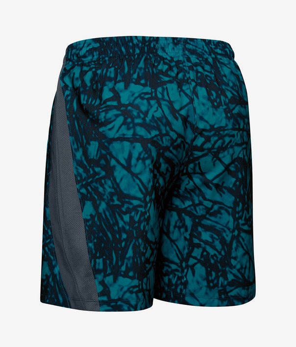 Kraťasy Under Armour Launch Sw 7'' Printed Short-Gry (4)