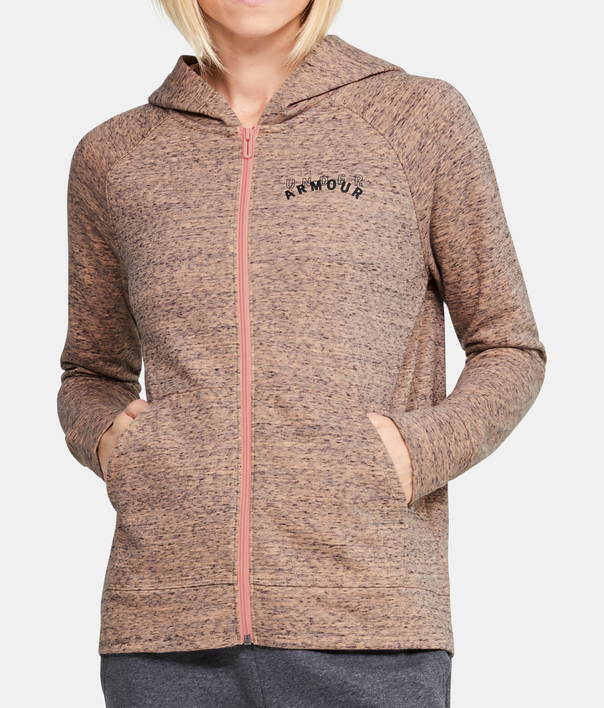 Mikina Under Armour Rival Terry Fz Hoodie (1)