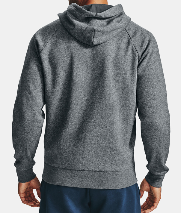 Mikina Under Armour UA Rival Fleece FZ Hoodie-GRY (2)