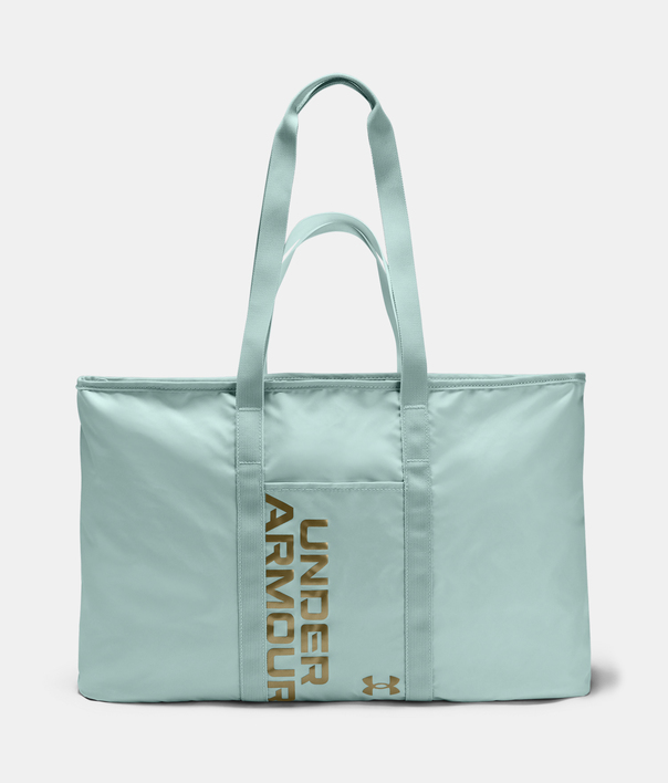 Taška Under Armour UA Favorite Metallic Tote-BLU (1)