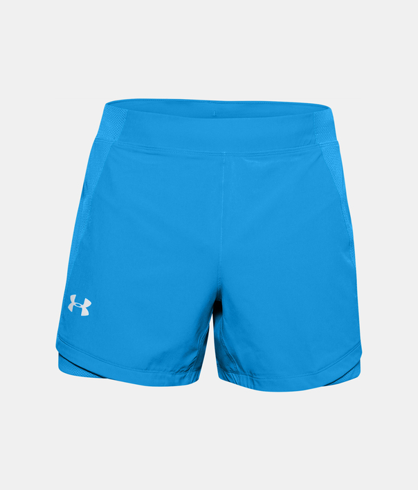 Kraťasy Under Armour UA QUALIFIER SPEEDPOCKET 5'' SHORT-BLU (1)