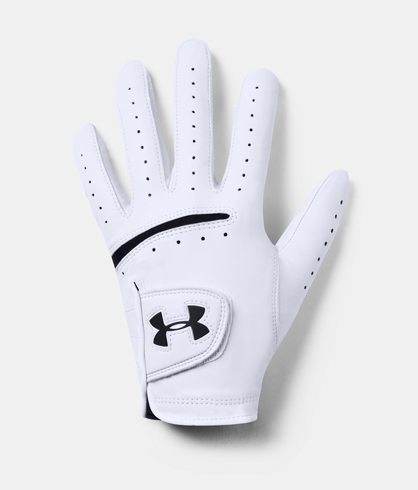 Rukavice Under Armour Strikeskin Tour Golf-WHT (1)