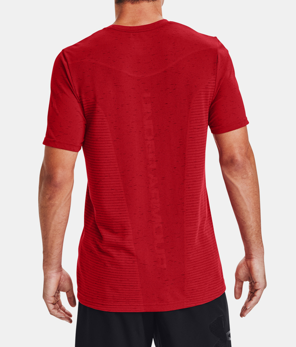 Tričko Under Armour Seamless Logo SS-RED (2)