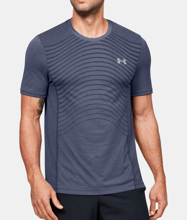 Tričko Under Armour Seamless Wave Ss (1)