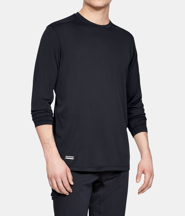 Tričko Under Armour UA TAC Tech LS T-BLK (1)