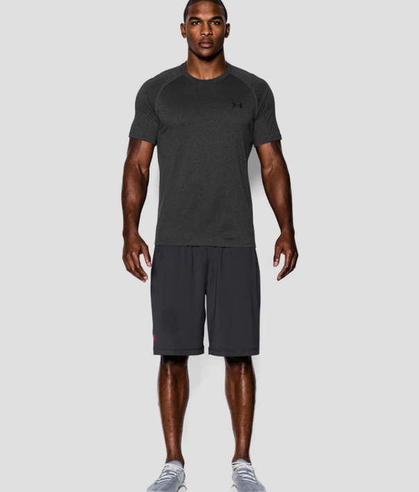 Tričko Under Armour Tech SS Tee-GRY (3)
