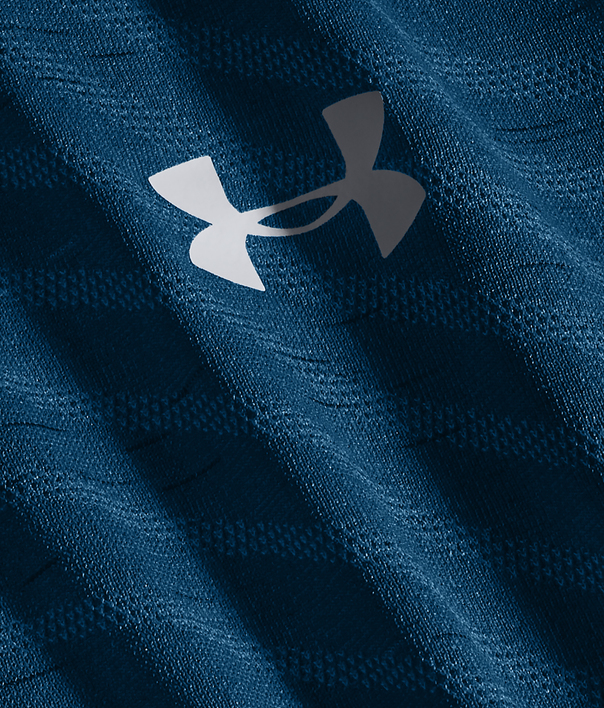 Tričko Under Armour UA Seamless Wave SS-BLU (4)