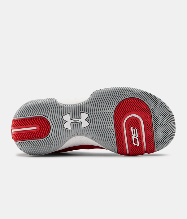 Boty Under Armour GS SC 3ZER0 IV-RED (4)