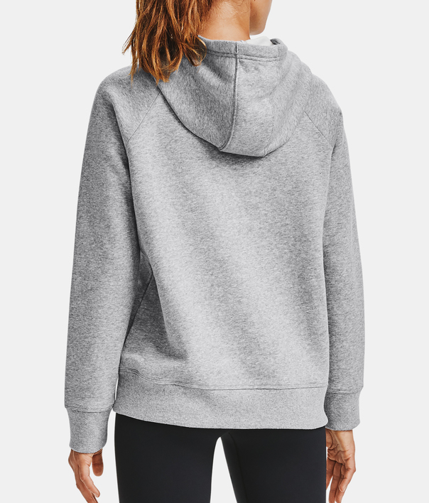 Mikina Under Armour Rival Fleece HB Hoodie-GRY (2)