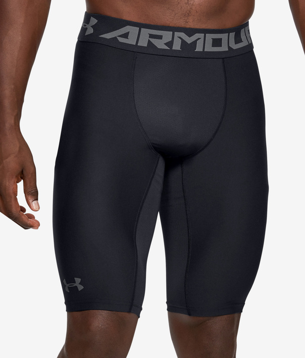 Kraťasy Under Armour UA HG Armour Extra Long Shorts-BLK (1)