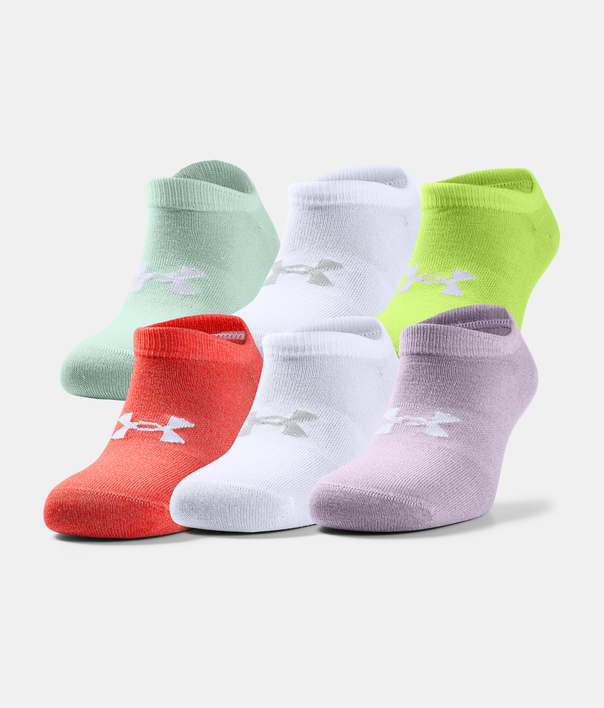 Ponožky Under Armour UA Women's Essential NS-PPL (4)