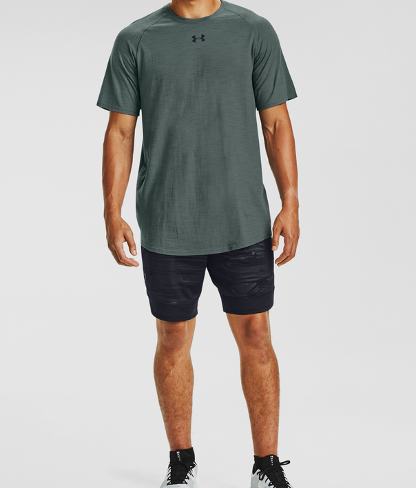 Tričko Under Armour UA Charged Cotton SS-BLU (3)