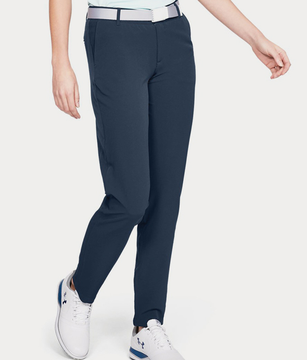 Kalhoty Under Armour Links Pant-NVY (1)
