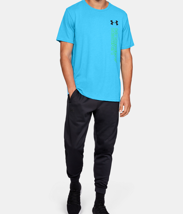 Tričko Under Armour GL Essentials LC SS T-BLU (5)