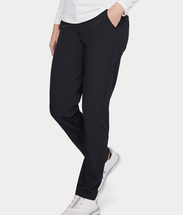 Kalhoty Under Armour Links Pant-BLK (1)