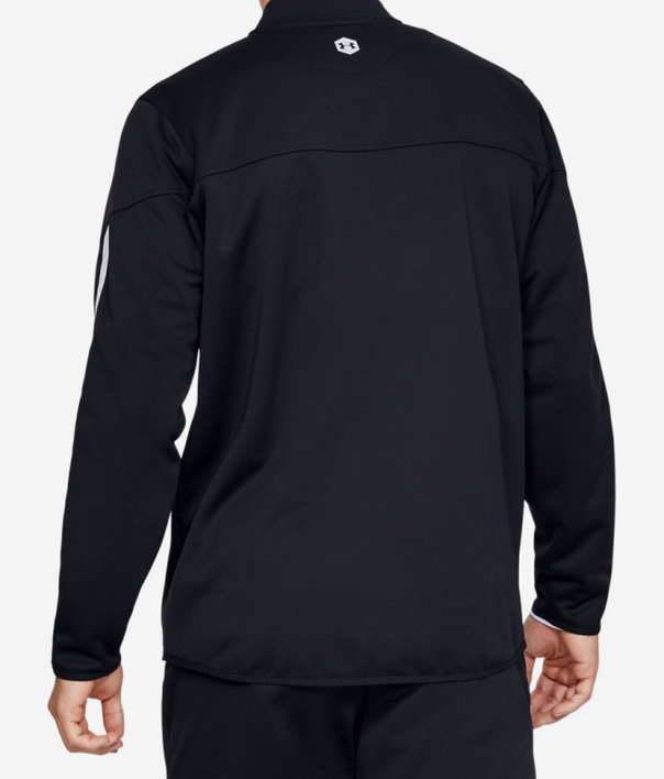 Mikina Under Armour Athlete Recovery Knit Warm Up Top-Blk (2)