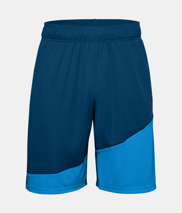 Kraťasy Under Armour Baseline 10IN Short-BLU (3)
