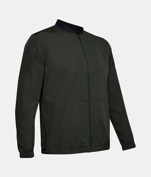 Bunda Under Armour Unstoppable Essential Bomber-Grn (3)