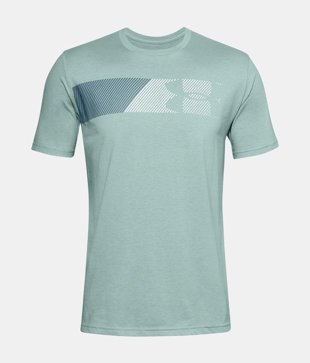 Tričko Under Armour UA FAST LEFT CHEST 2.0 SS-BLU (1)