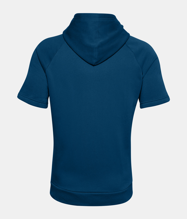 Mikina Under Armour Rival Flc Big Logo SS HD-BLU (4)