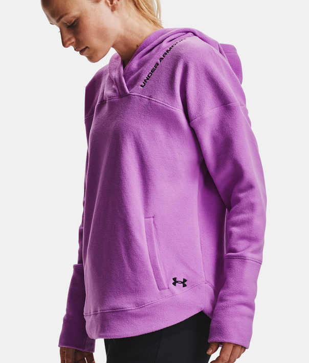 Mikina Under Armour Recover Fleece Hoodie-PPL (5)