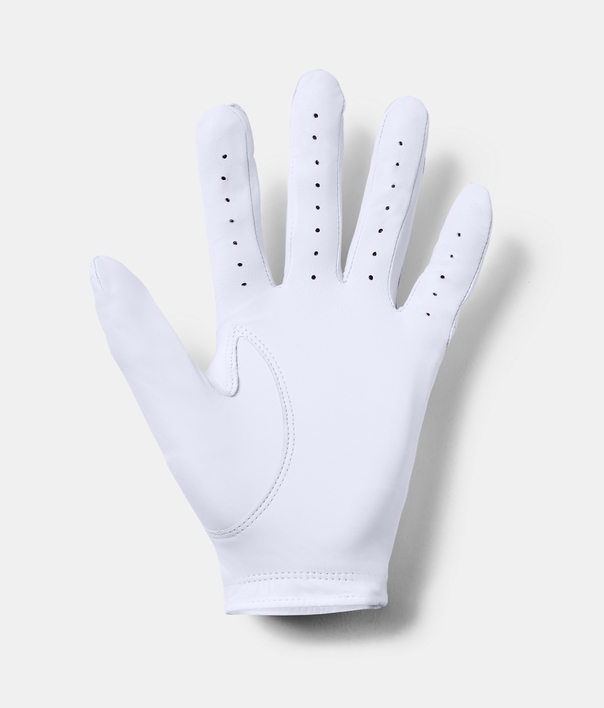 Rukavice Under Armour Strikeskin Tour Golf-WHT (2)