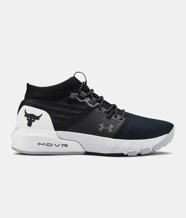 Boty Under Armour UA GS Project Rock 2-BLK (1)