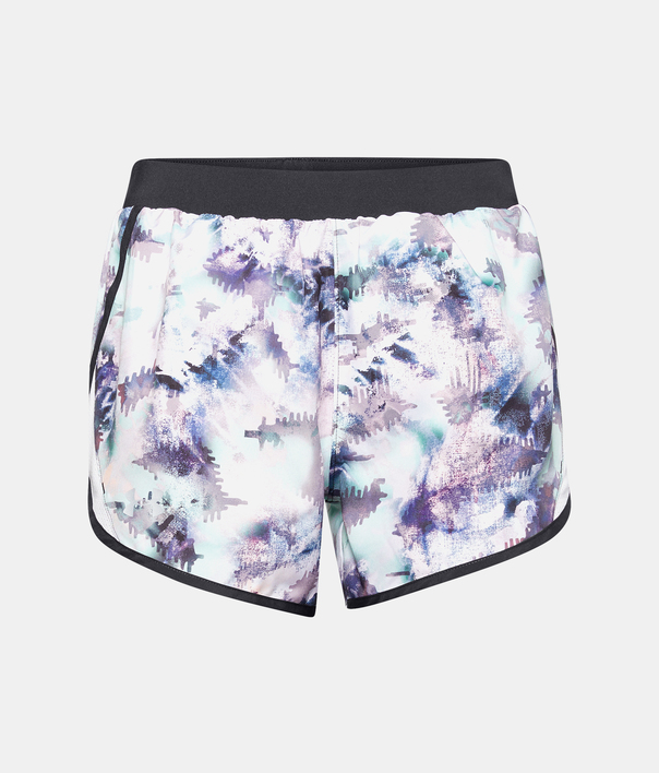 Kraťasy Under Armour UA Fly By 2.0 Printed Short-BLU (1)