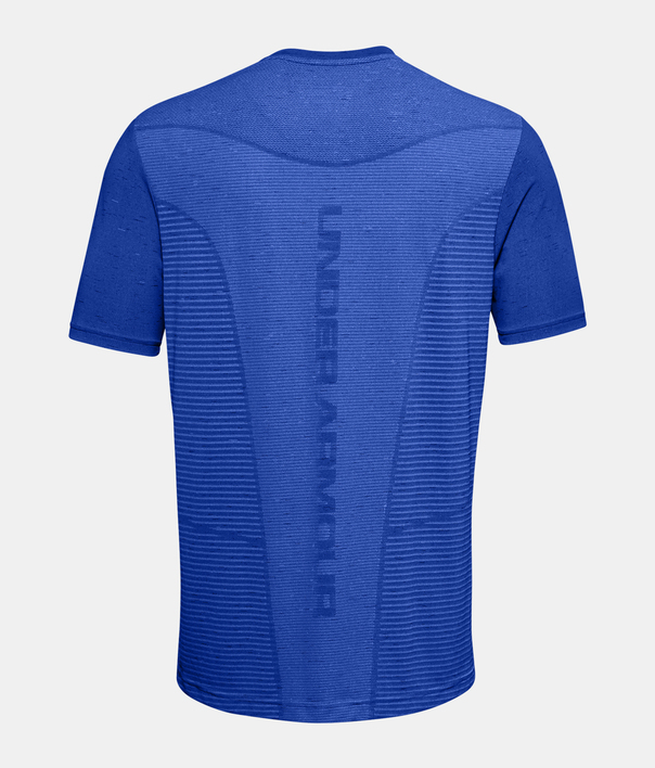 Tričko Under Armour Seamless Logo SS-BLU (4)