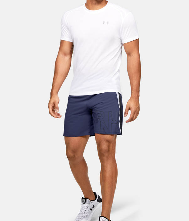 Kraťasy Under Armour M Launch Sw 7'' Graphic Short (4)