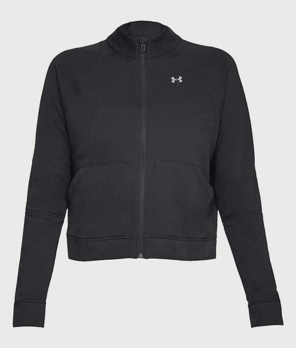 Mikina Under Armour Favorite Terry FZ Bomber (3)