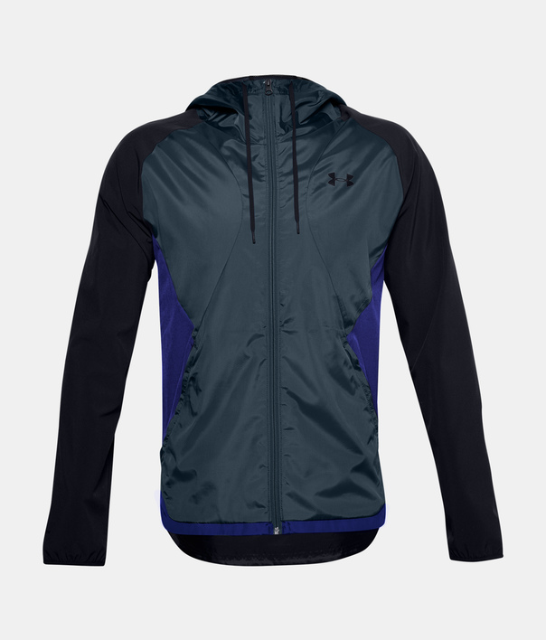 Bunda Under Armour STRETCH-WOVEN HOODED JACKET-BLK (6)