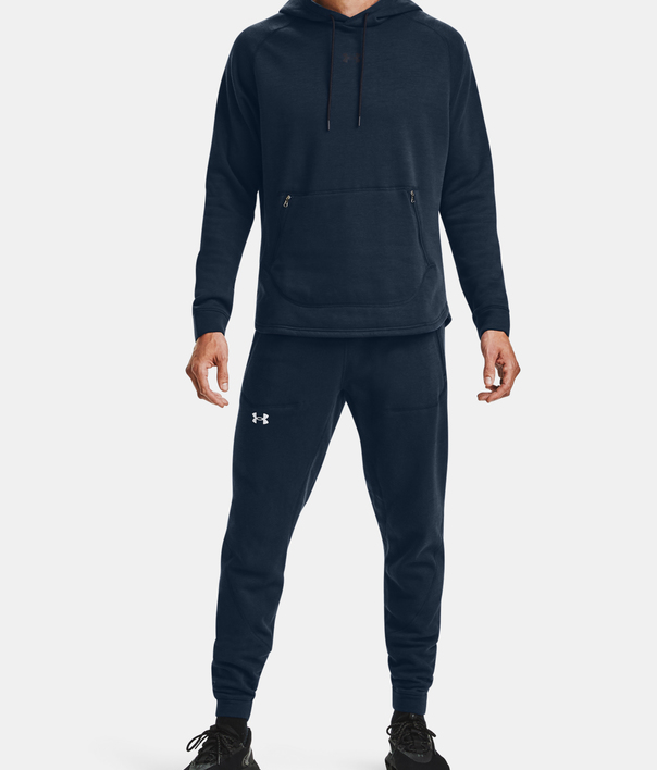 Mikina Under Armour Charged Cotton Fleece HD-NVY (6)