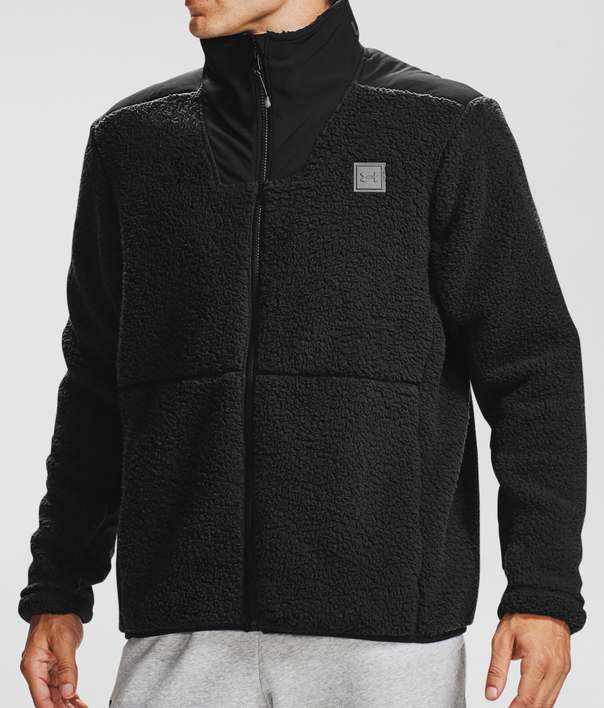 Bunda Under Armour LEGACY SHERPA SWACKET-BLK (1)