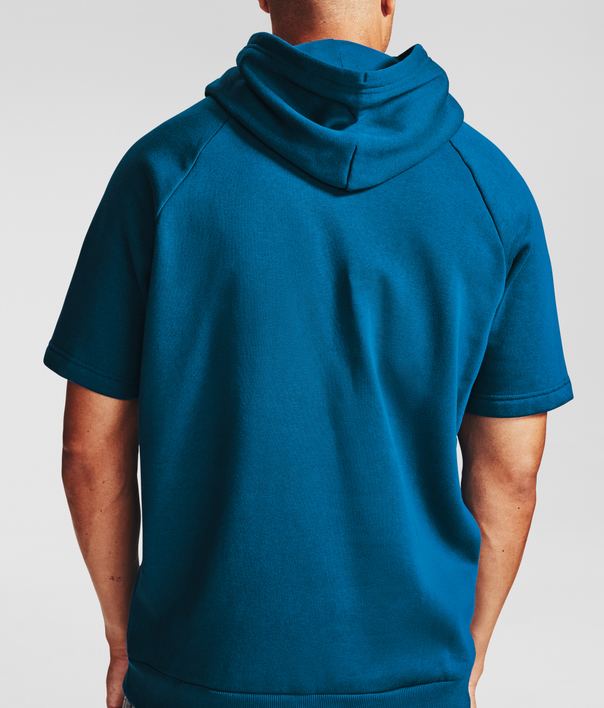 Mikina Under Armour Rival Flc Big Logo SS HD-BLU (2)