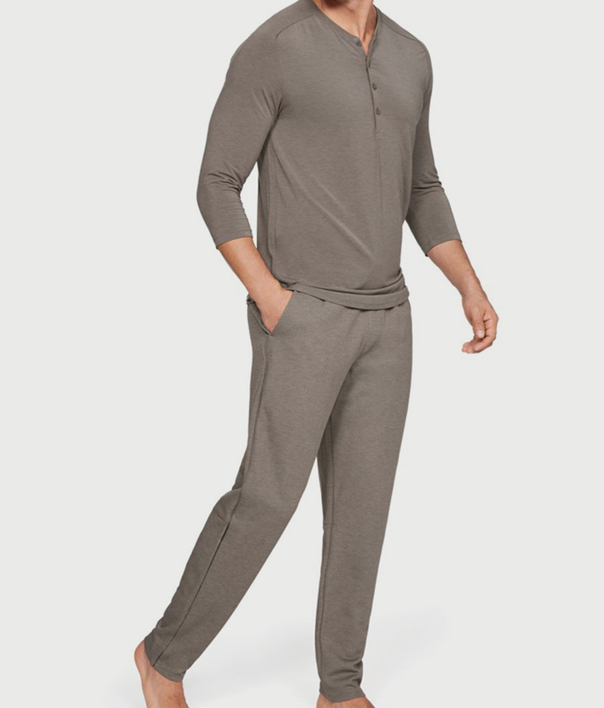 Pyžamo Under Armour Recovery Sleepwear Elite 3/4 Henley (5)