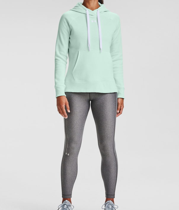 Mikina Under Armour Rival Fleece HB Hoodie-BLU (3)