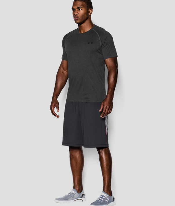 Tričko Under Armour Tech SS Tee-GRY (4)