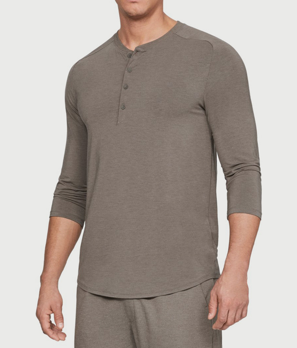 Pyžamo Under Armour Recovery Sleepwear Elite 3/4 Henley (1)