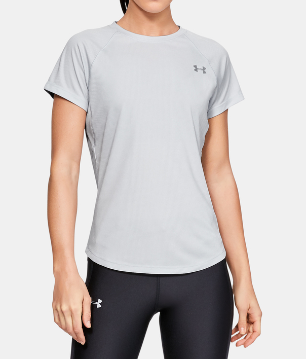 Tričko Under Armour Speed Stride Short Sleeve-GRY (1)