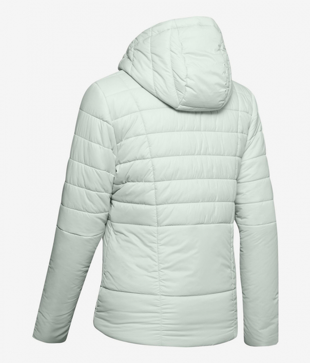 Bunda Under Armour Insulated Hooded Jkt-Gry (2)