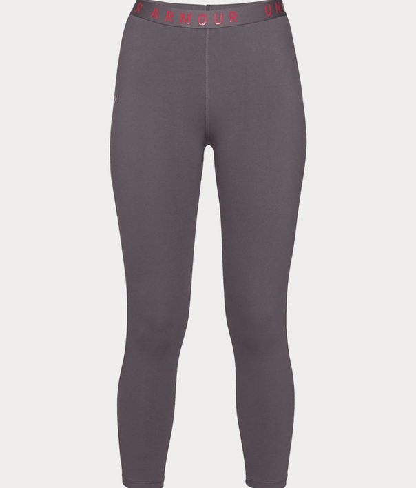 Legíny Under Armour FAVORITE MESH CROP -GRY (1)