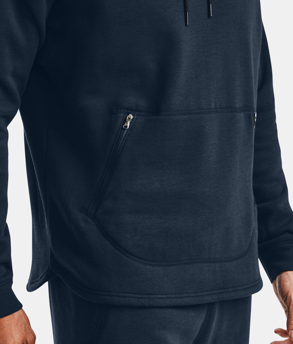 Mikina Under Armour Charged Cotton Fleece HD-NVY (5)