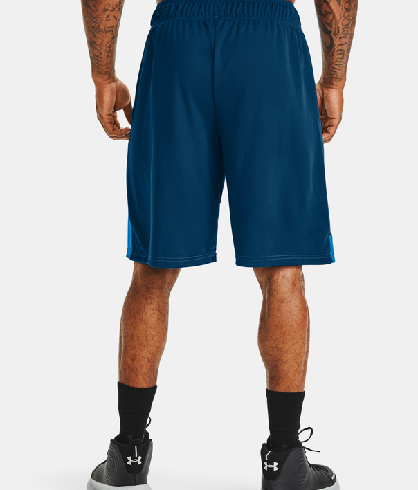 Kraťasy Under Armour Baseline 10IN Short-BLU (2)