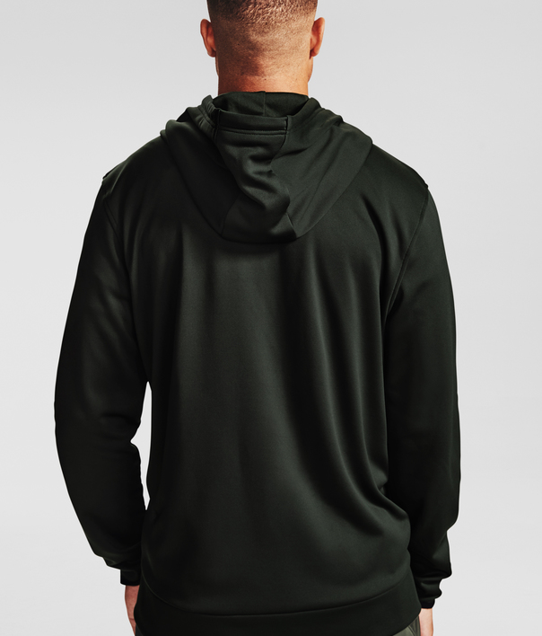 Mikina Under Armour Armour Fleece FZ Hoodie-GRN (2)