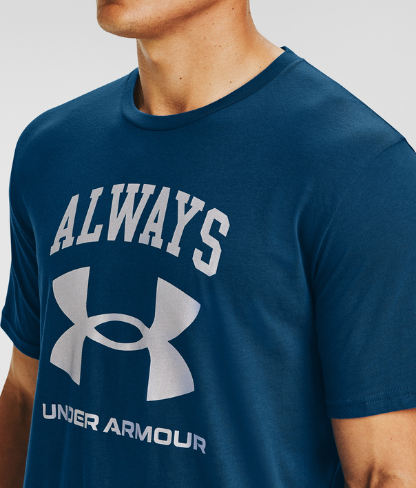 Tričko Under Armour UA ALWAYS UNDER ARMOUR SS-BLU (4)