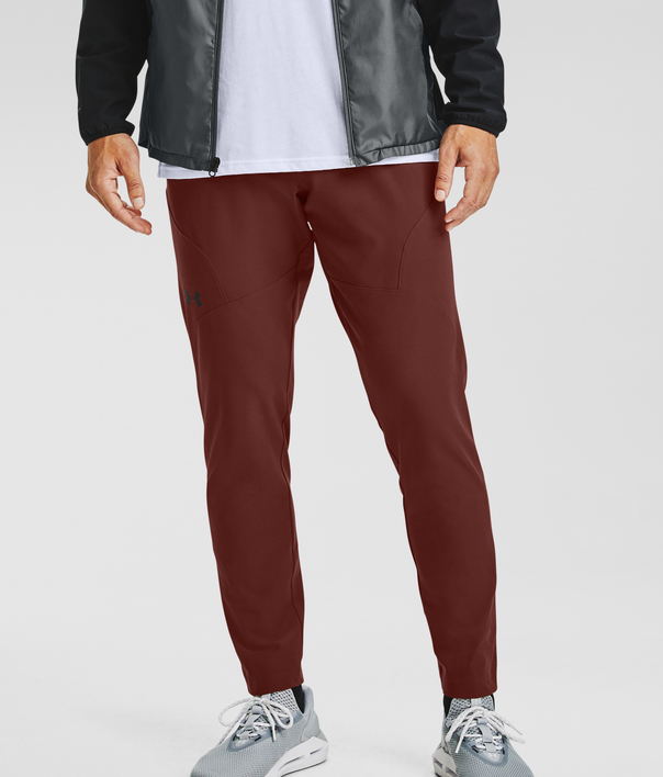 Tepláky Under Armour UA UNSTOPPABLE TAPERED PANTS-RED (3)