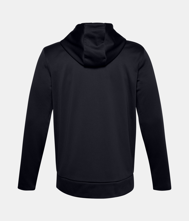 Mikina Under Armour UA Armour Fleece FZ Hoodie-BLK (2)