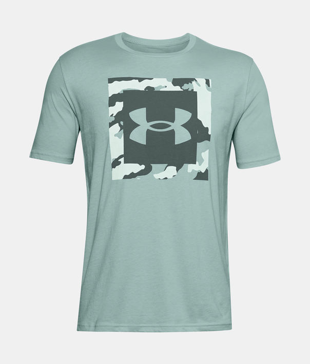 Tričko Under Armour UA CAMO BOX LOGO SS-BLU (1)